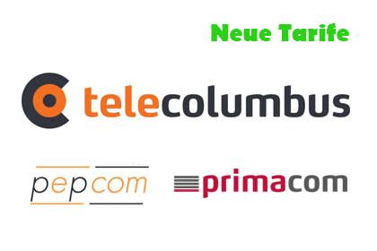 Telecolumbus Pepcom Primacom - Neue Tarife