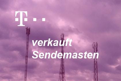 Telekom verkauft Sendemasten