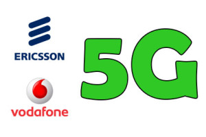 Vodafone und Erisson 5G