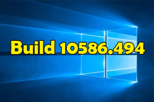 Windows 10 Build 10586.494