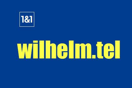 1&1 + wilhelm.tel