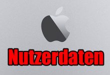 Apple Nutzerdaten