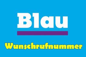 blau.de - wunschrufnummer