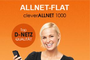 callmobile passt Option an – Künftig bis zu 2 GB Highspeed Internet mit cleverALLNET 1000