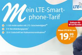 M-net bietet ab sofort auch LTE Tarife für Smartphone und Tablet
