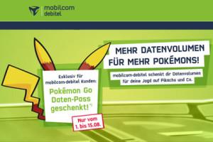mobilcom-debitel Pokemon GO
