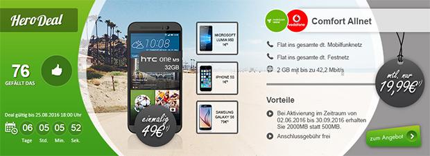 modeo - HTC One mobilcom-debitel Vodafone Comfort