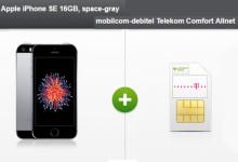 modeo - iPhone SE + mobilkom-debitel Telekom Comfort Allnet