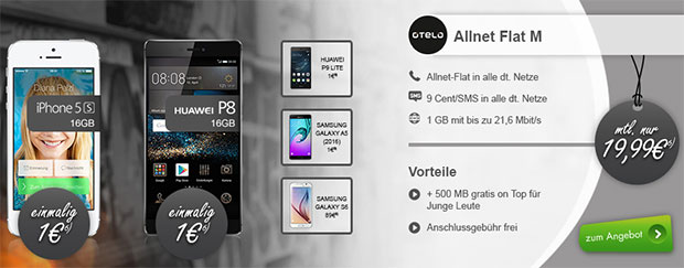 modeo - otelo Allnet-Flat M