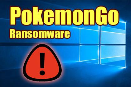 PokemonGo Ransomware