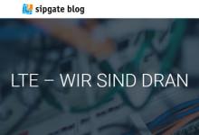 sipgate blog LTE - Wir Sind Dran