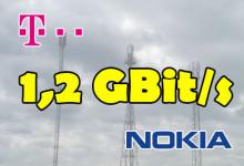 Telekom und Nokia 1,2 Gbit/s