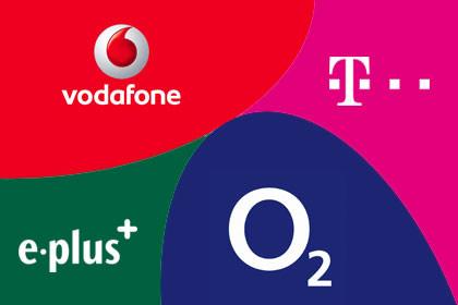 Vodafone, Telekom, o2, Eplus