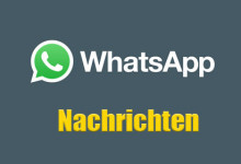 WhatsApp - Nachrichten
