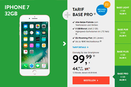 BASE - Apple iPhone 7 Angebot