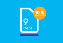 Blau - 9 cent Tarif