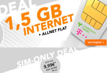 handyflash - Telekom 1,5 GB Simonly