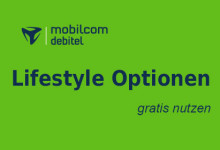 mobilcom-debitel Lifestyle Optionen