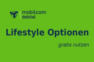 mobilcom-debitel Lifestyle Optionen