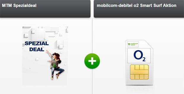 MTM Specialdeal mobilcom-debitel o2 Smart Surf