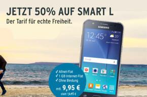 Tchibo mobil Smart L: Allnet-Flat mit 1 GB für 9,95 Euro statt 19,95 Euro