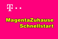 Telekom - MagentaZuhause Schnellstart