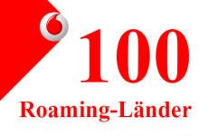 Vodafone 100 Roaming-Länder