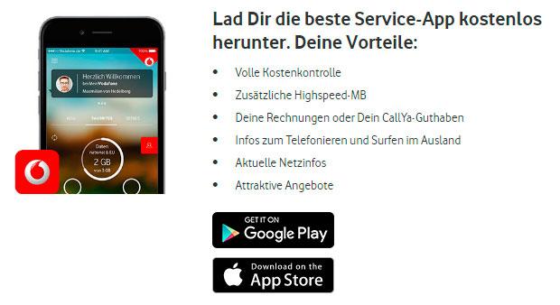 Vodafone App Angebot