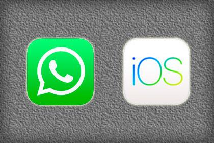 WhatsApp iOS 10 Update