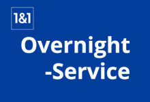 1&1 Overnight Service