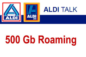 aldi-talk 500 GB Roaming