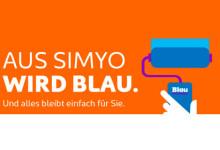 Aus Simyo wird Blau