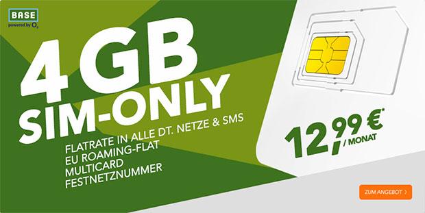 handyflash - BASE 4GB Sim Only