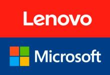 Lenovo und Microsoft