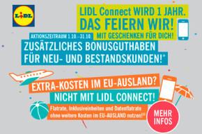 LIDL Connect feiert Geburtstag – Tarifverbesserungen und Aktionen