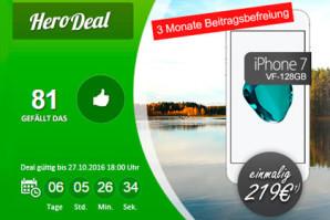 Smartphone mit 3 GB LTE Allnet-Flat und EU Roaming für 3 Monate kostenlos