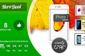 Sprach- und SMS-Flat mit 2 GB und Smartphone nach Wahl für 39,99 Euro