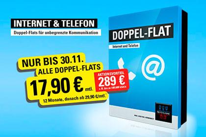 NetCologne Doppel-Flat