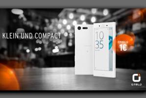 otelo führt das Sony Xperia X Compact für einmalig 1 Euro ein