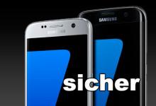 Samsung Galaxy s7 sicher