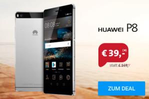 Huawei P8 mit Tarif für monatlich nur 9,99 Euro
