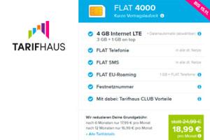 Tarifhaus Flat 4000