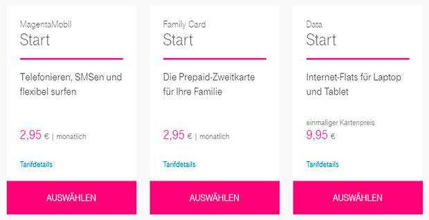 Telekom MagentaMobil Start