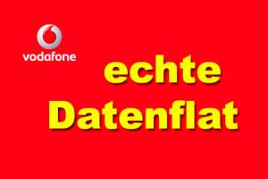 Vodafone - echte Datenflat