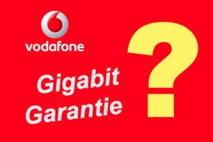 Vodafone Gigabit Garantie
