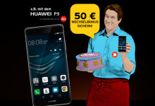 Congstar - 50 Euro Wechselbonus