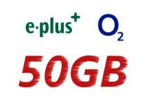E-plus - o2 - 50 GB