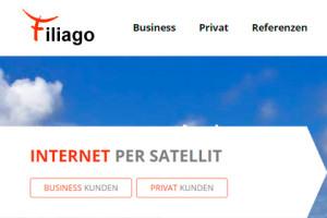 Filiago - Internet per Satellit