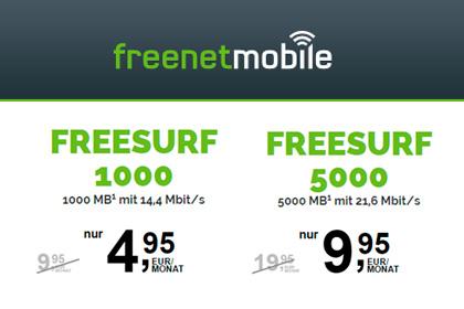 Freesurf Die Neuen Mobilen Surfflatrates Von Freenetmobile