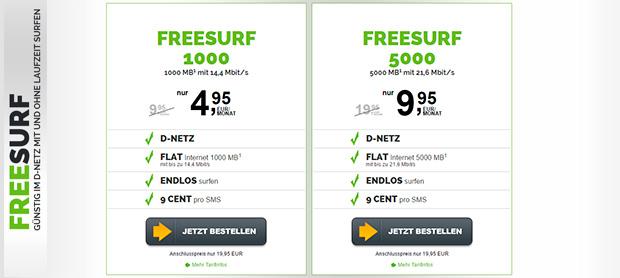 freenetmobile - freesurf